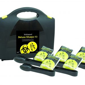 Deluxe Sharps Kit, Plastic Portable