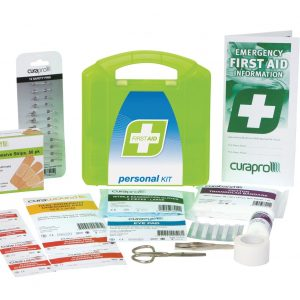 Personal First Aid Kit, Plastic Portable