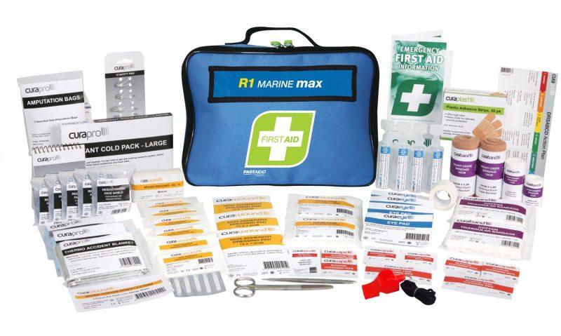 R1 Marine Max First Aid Kit, Soft Pack
