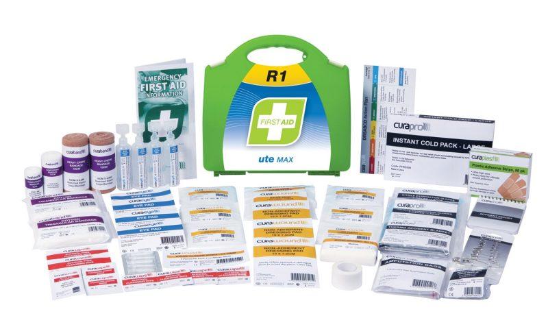 R1 Ute Max First Aid Kit, Plastic Portable