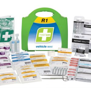 R1 Vehicle Max First Aid Kit, Plastic Portable