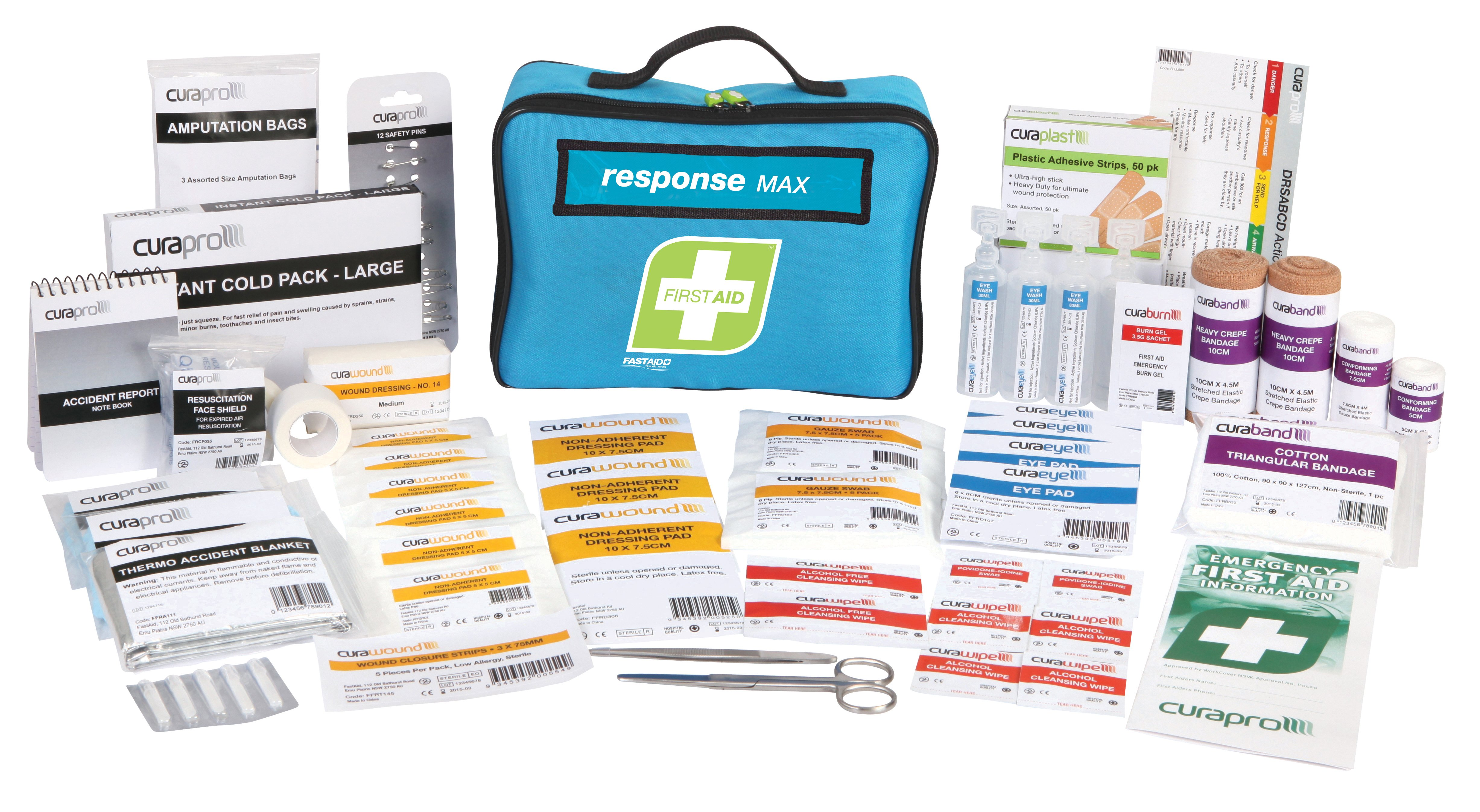 R1 Response Max First Aid Kit, Soft Pack