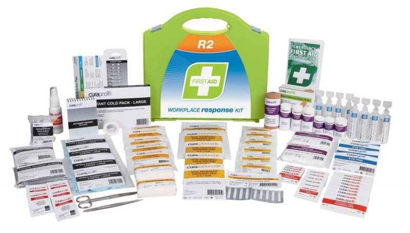 R2 Workplace Response First Aid Kit, Plastic Portable
