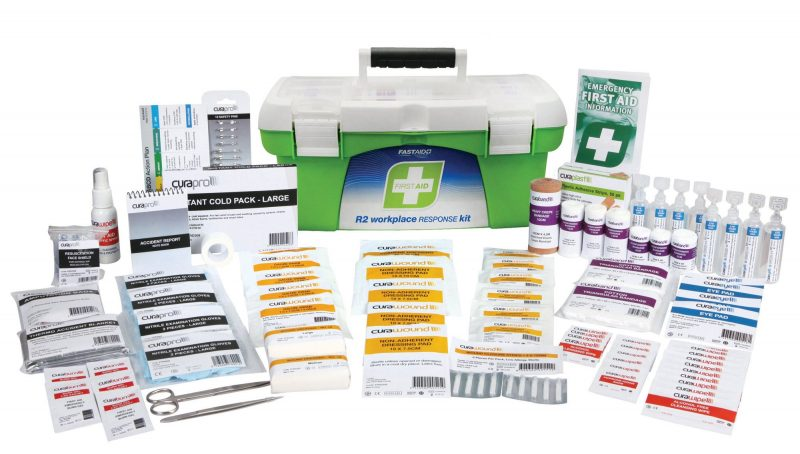 R2 Workplace Response First Aid Kit, Tackle Box