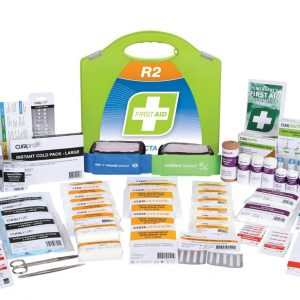 R2 Constructa Max First Aid Kit, Plastic Portable