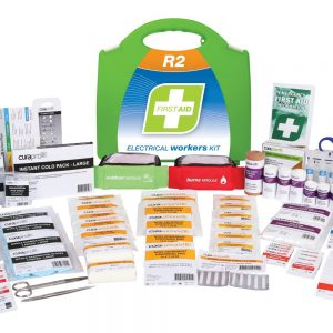 R2 Electrical Workers First Aid Kit, Plastic Portable