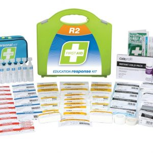 R2 Education Response First Aid Kit, Plastic Portable