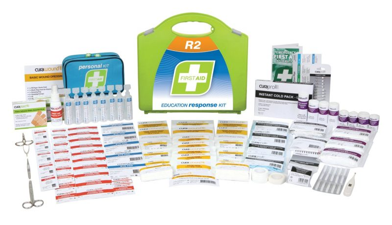 R2 Education Response First Aid Kit, Plastic Portable