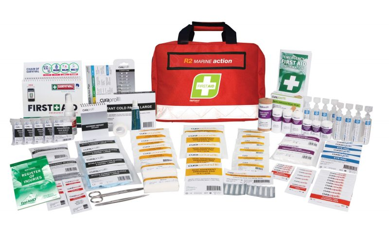 R2 Marine Action First Aid Kit, Soft Pack