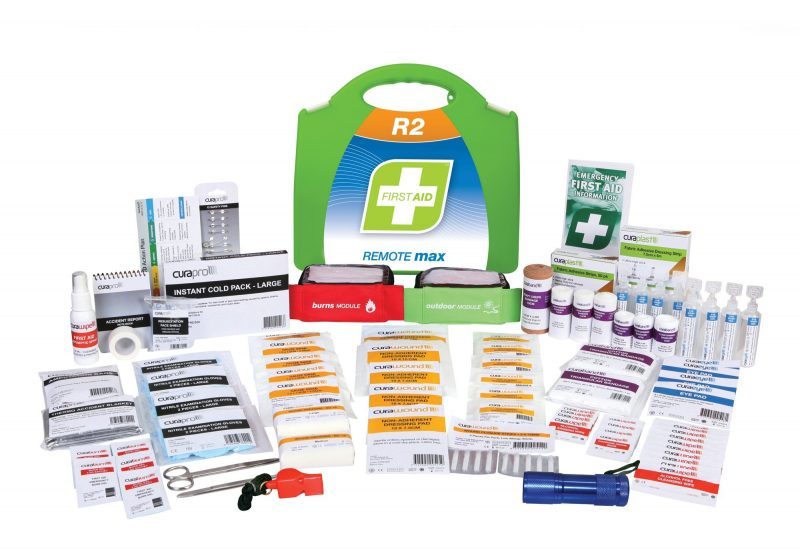 R2 Remote Max First Aid Kit, Plastic Portable