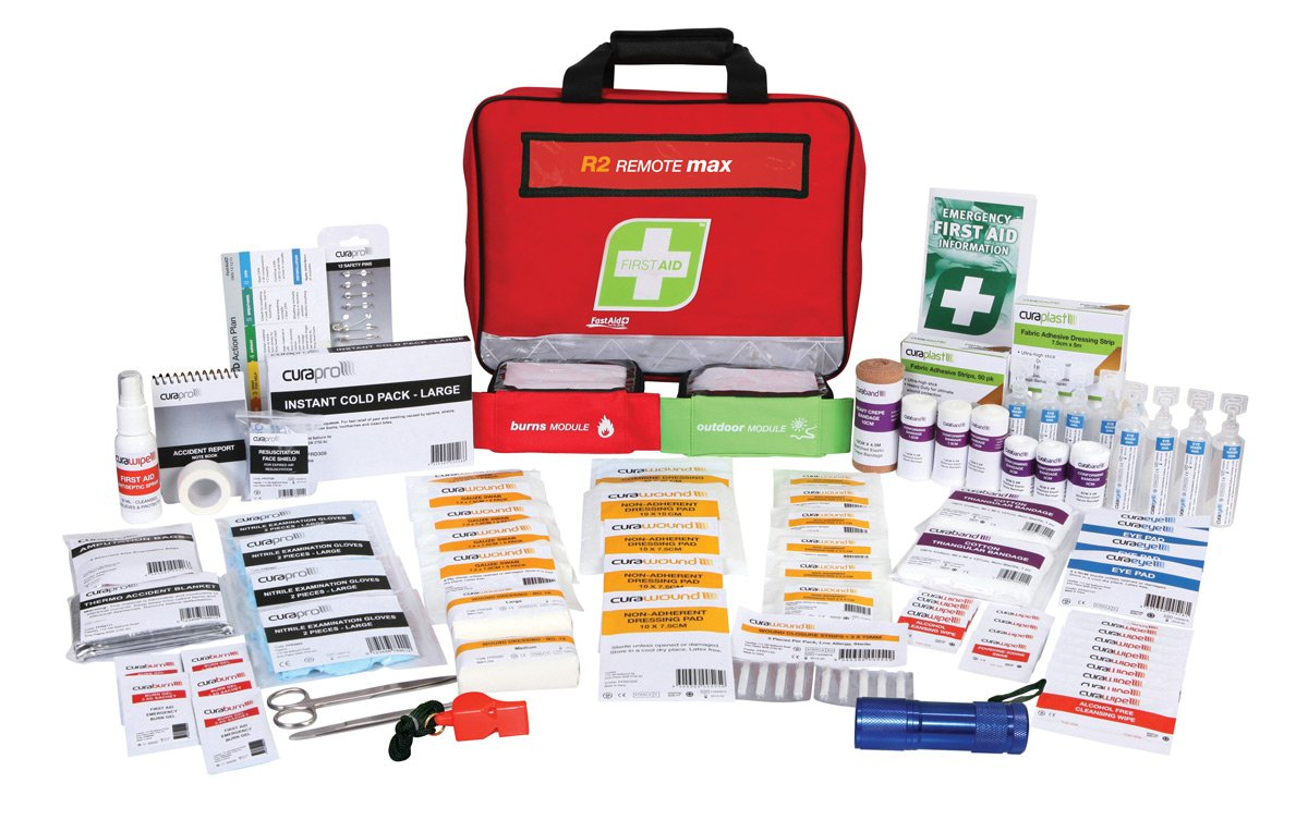 R2 Remote Max First Aid Kit, Soft Pack