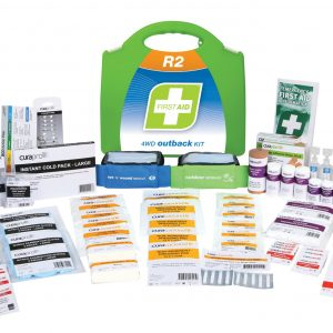 R2 4WD Outback First Aid Kit, Plastic Portable