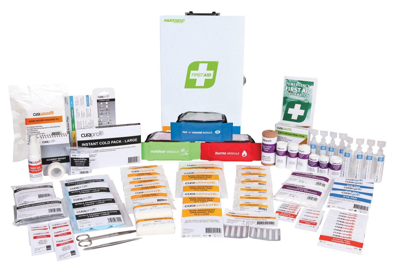 R2 Response Plus First Aid Kit, Metal Wall Mount