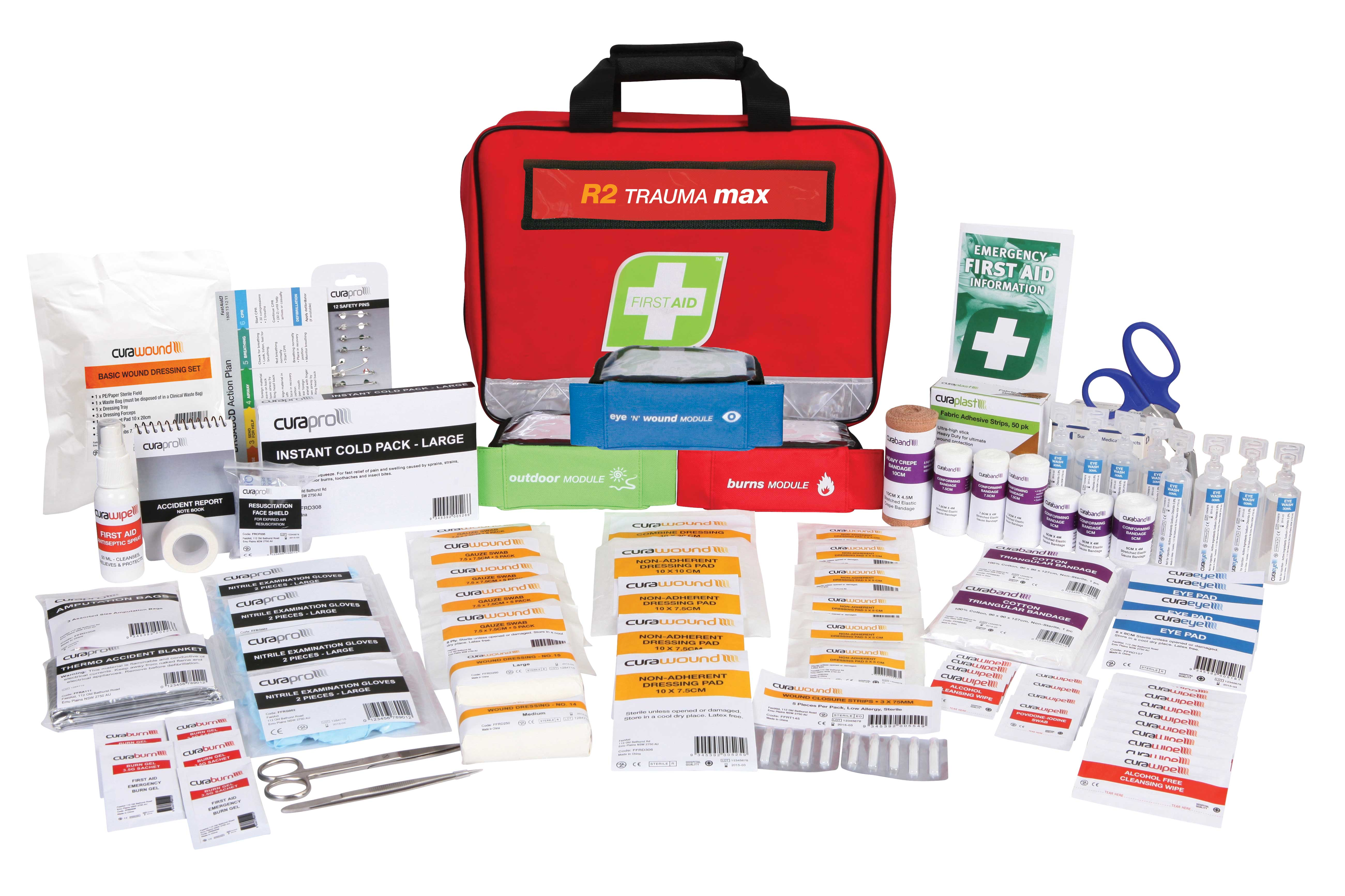 R2 Response Plus First Aid Kit, Soft Pack