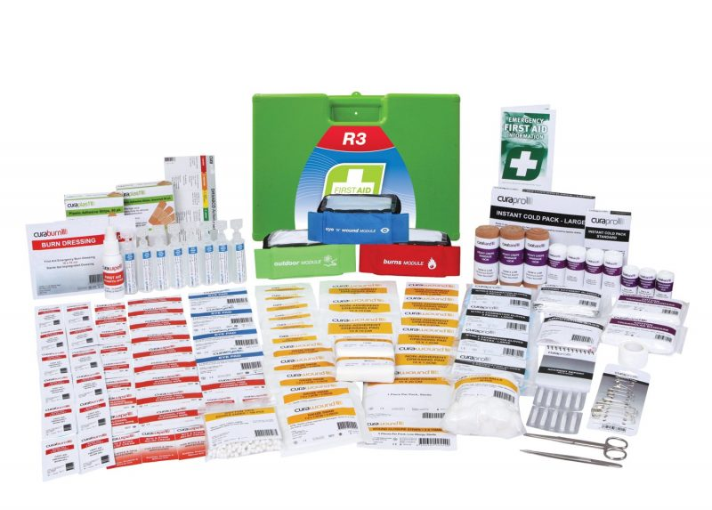 R3 Constructa Max Pro First Aid Kit, Plastic Portable