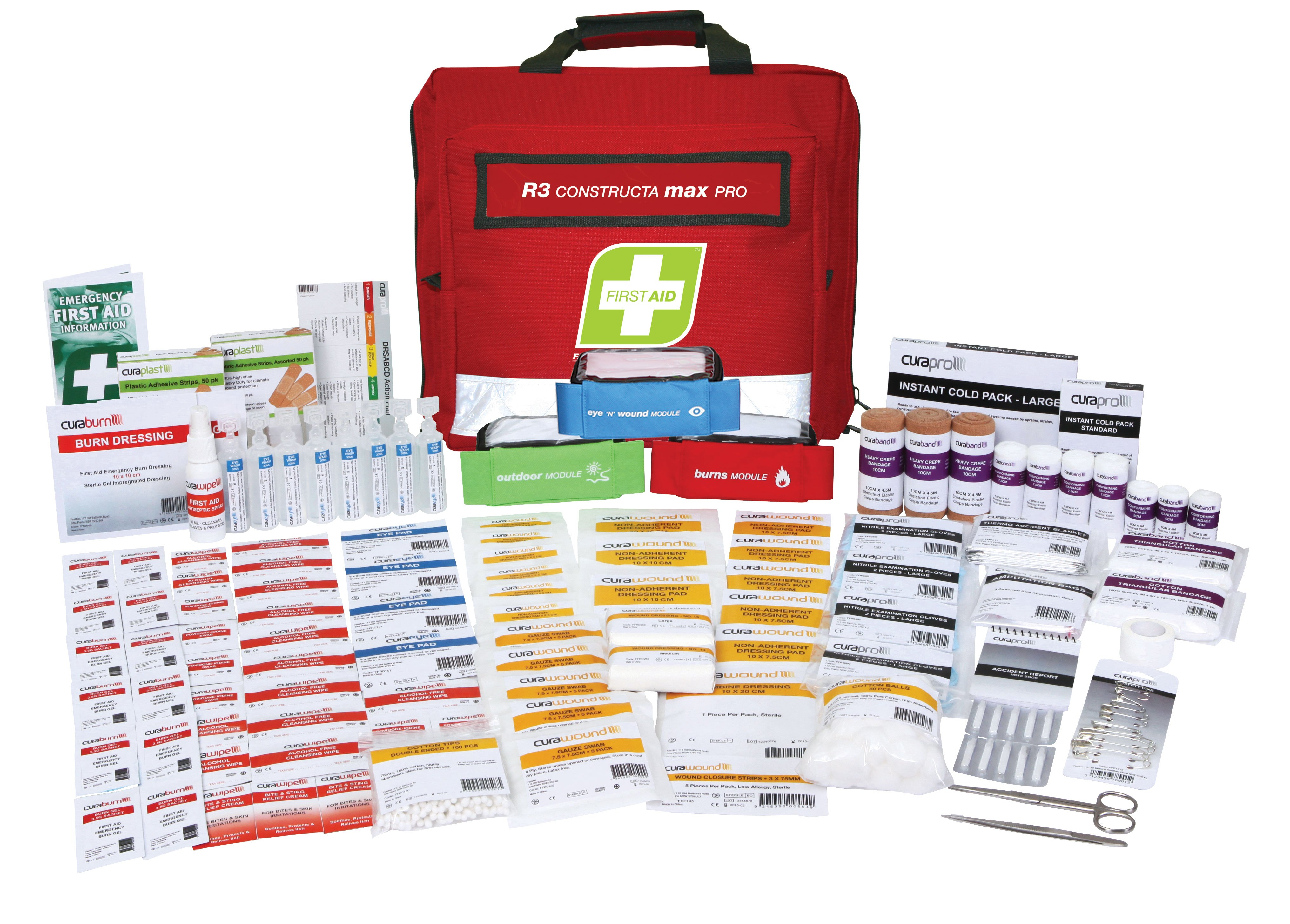 R3 Constructa Max Pro First Aid Kit, Soft Pack
