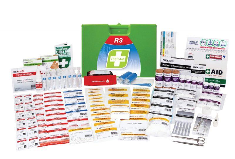 R3 Marine Pro First Aid Kit, Plastic Portable