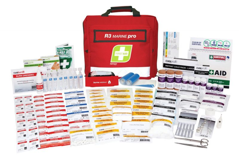 R3 Marine Pro First Aid Kit, Soft Pack
