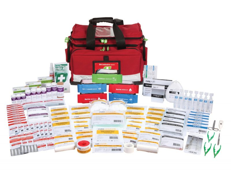 R4 Industra Medic First Aid Kit, Soft Pack