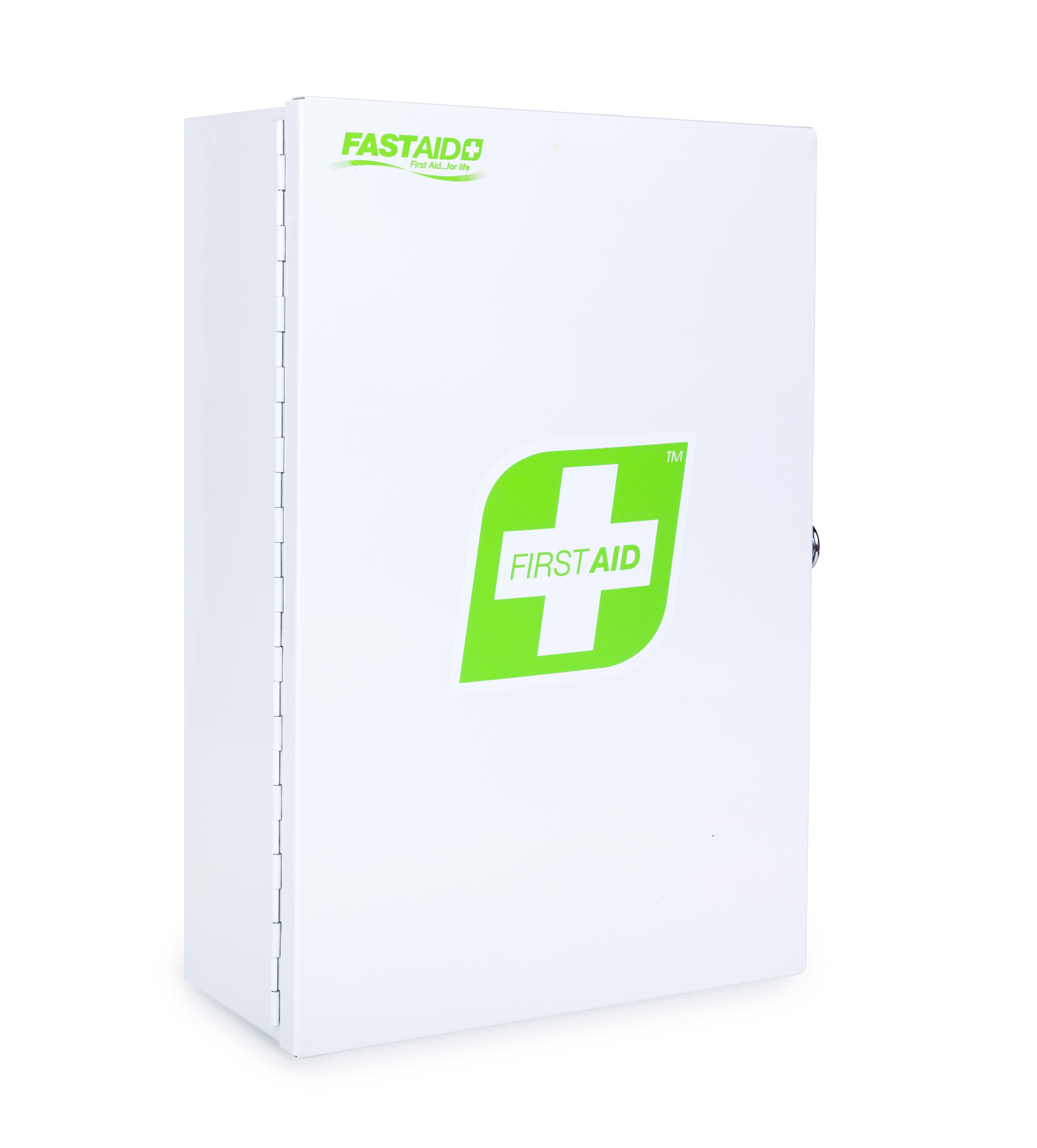 Empty Metal First Aid Box