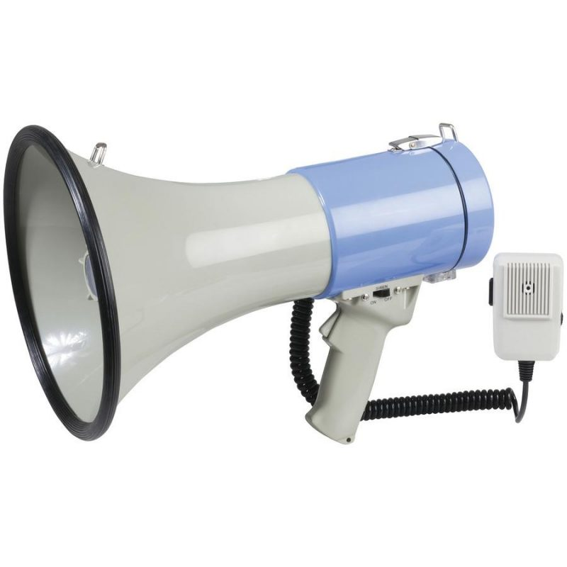 Megaphone PA with Siren