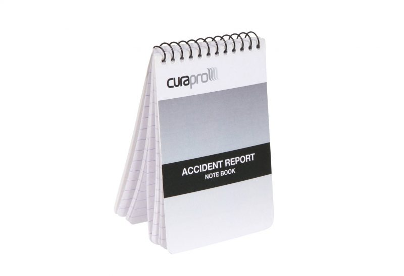 Accident Report Note Book with Pencil