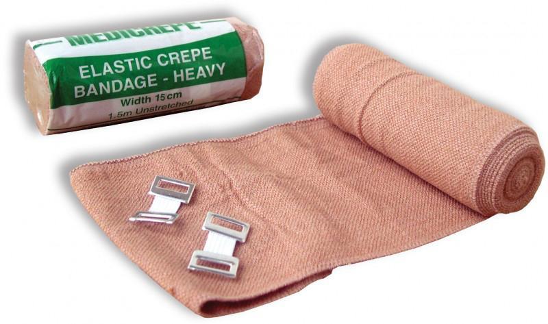 Crepe Bandage, Heavy Weight, 15cm