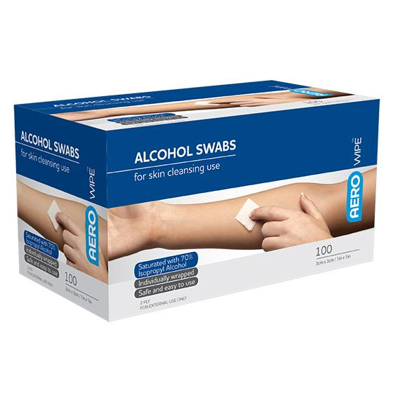 Alcohol Wipe, Sachet