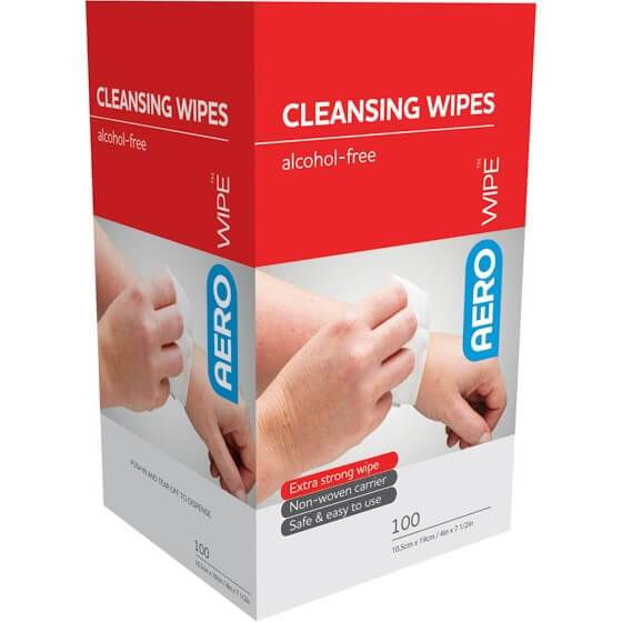 Wound Cleansing Wipe, Sachet