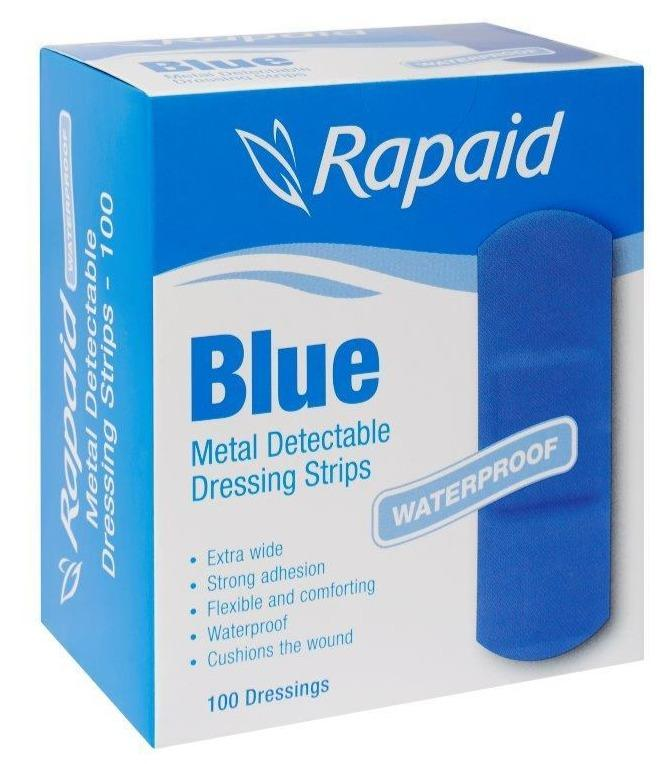 Adhesive Strips, Metal and Visual Detectable
