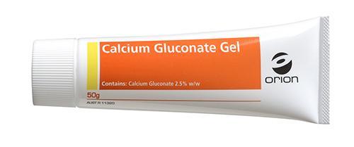 Calcium Gluconate Gel, 50g Tube