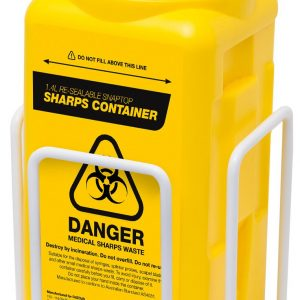 Sharps Bracket, for 1.4L & 1.8L Sharps Containers