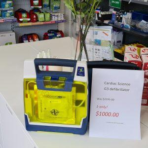 G3 defibrillator