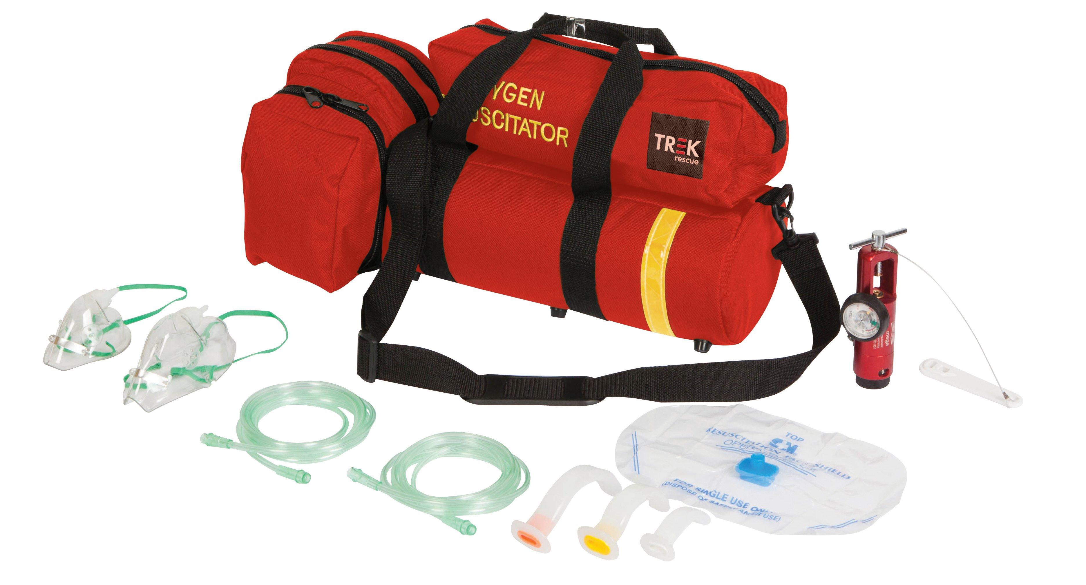 Trek Oxygen Kit, Oxy-Resus Eco, Soft Case