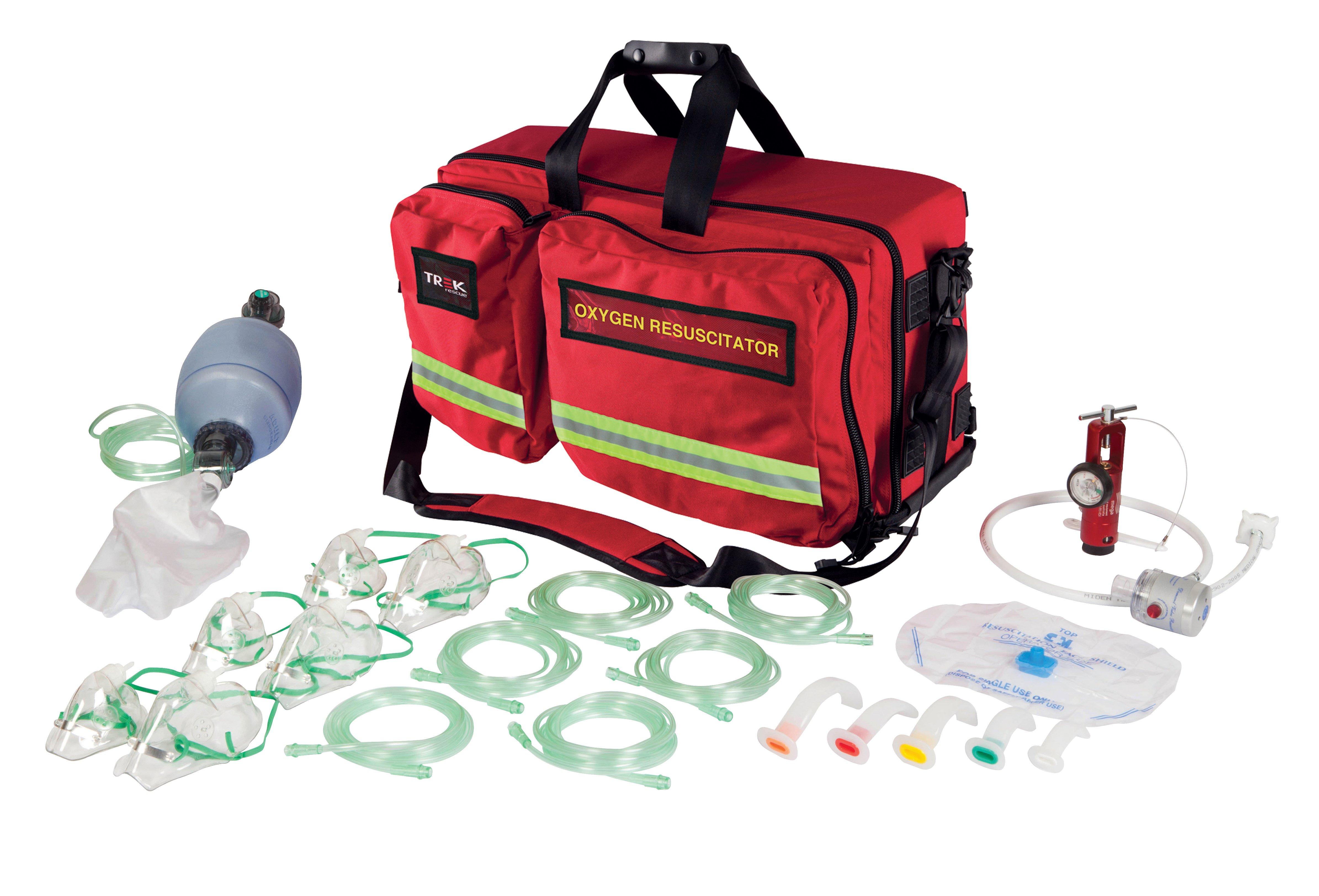 Trek Oxygen Kit, Oxy-Rescue Demand, Soft Case
