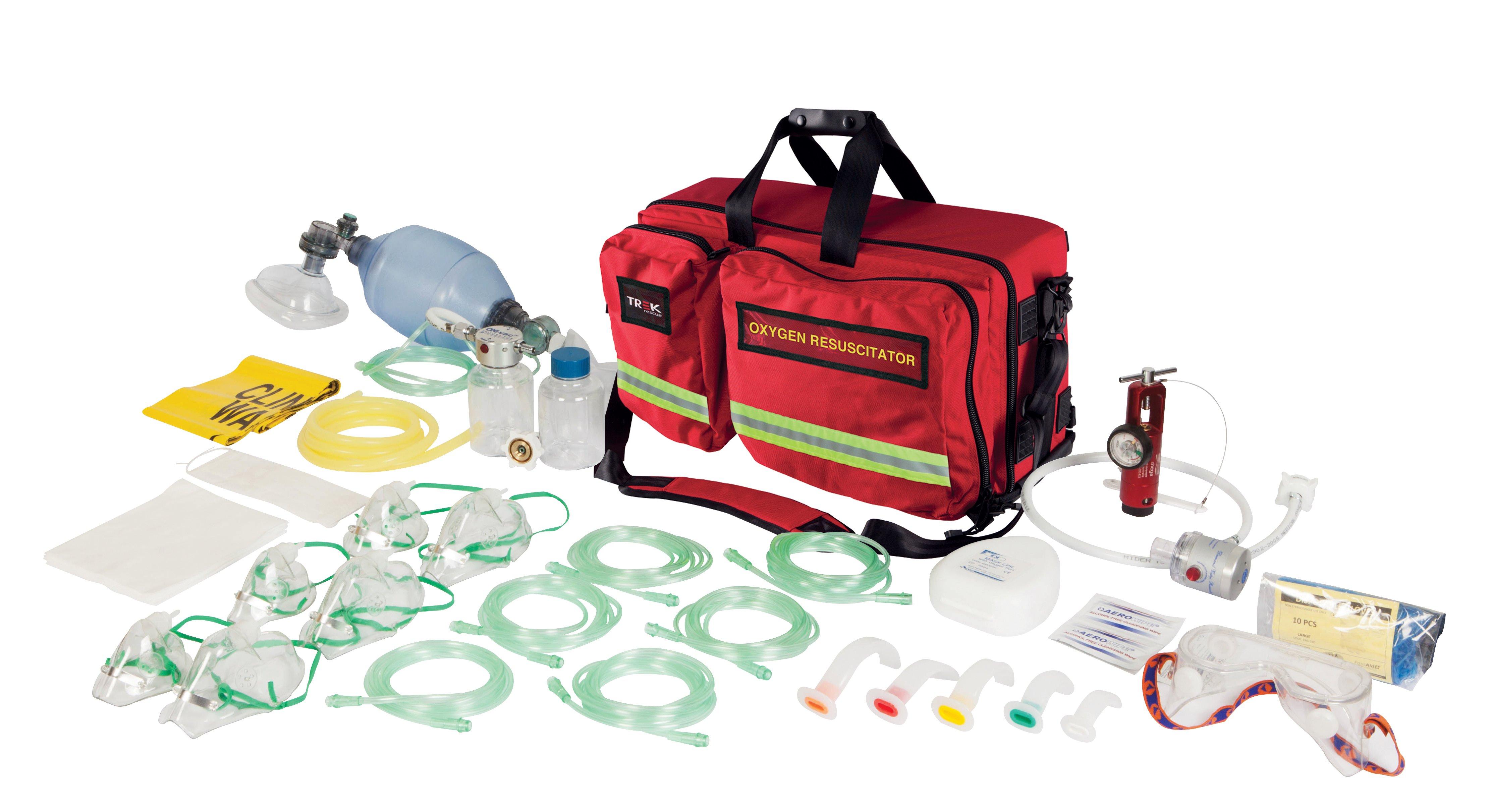 Trek Oxygen Kit, Oxy-Rescue Viva, Soft Case