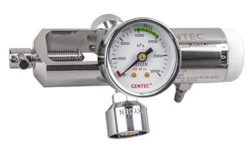 Oxygen Regulator 1-25LPM, Double Outlet