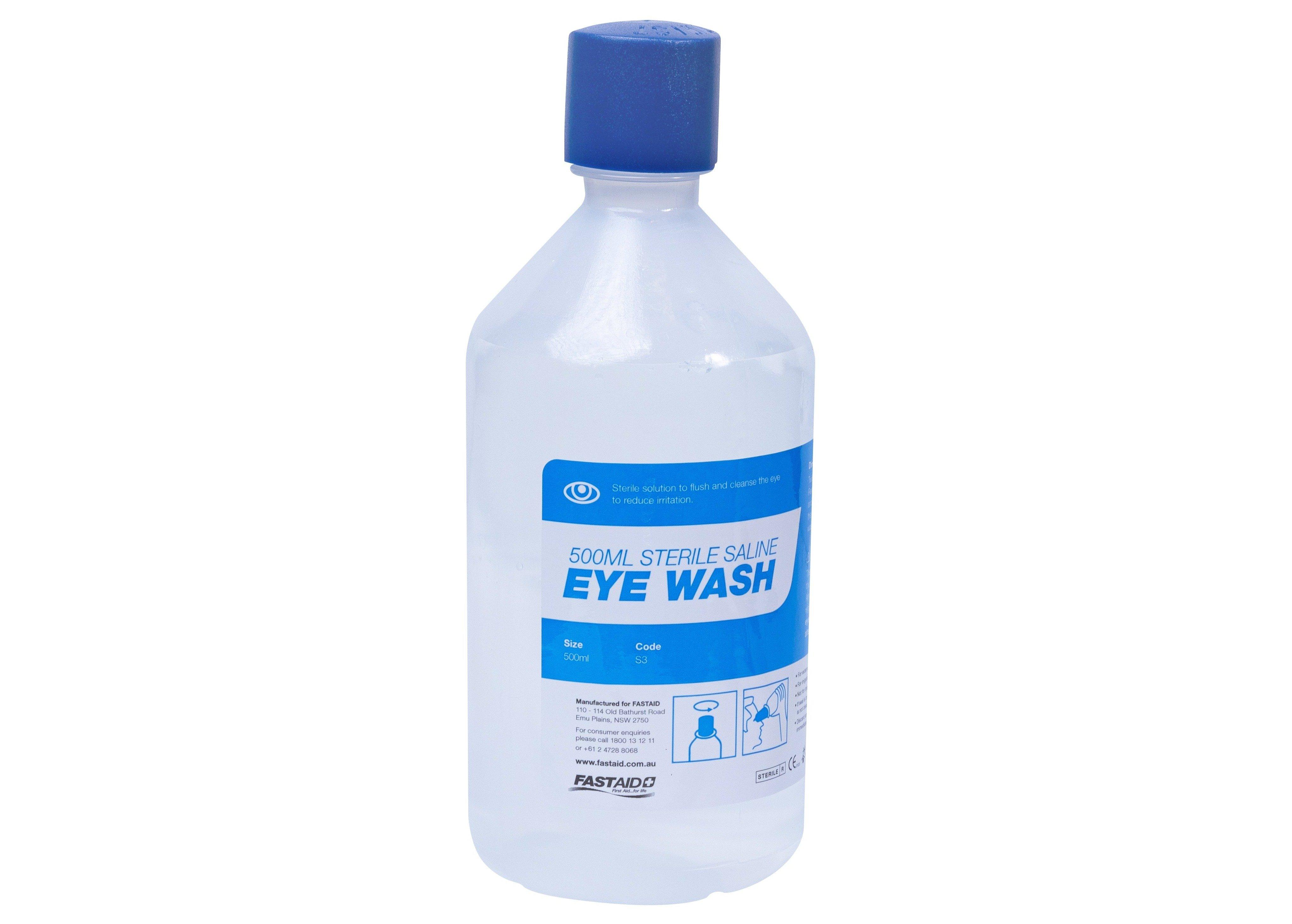 Eye Wash Solution, 500ml Bottle