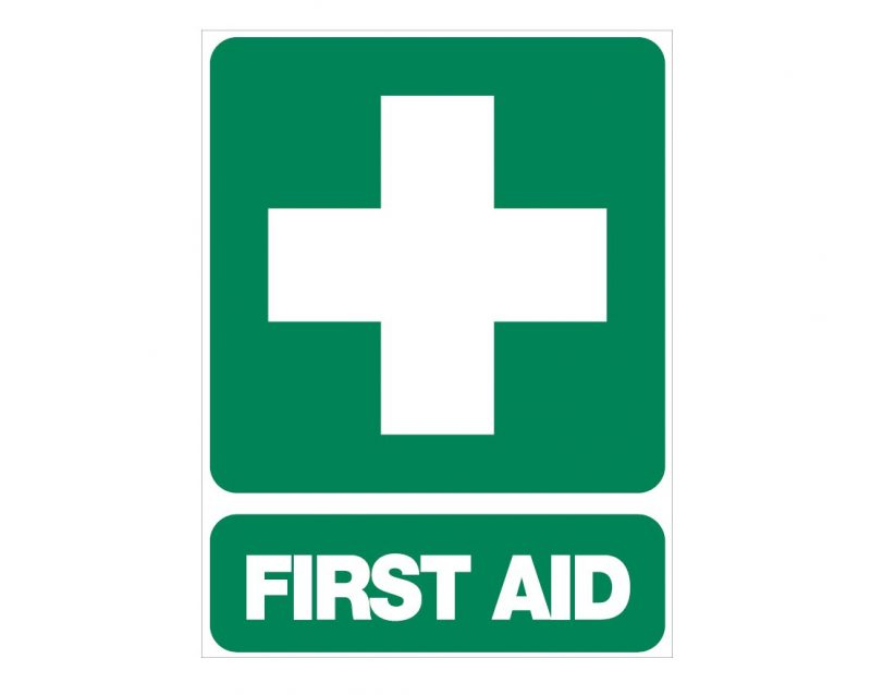 First Aid Sign, 600 x 450mm