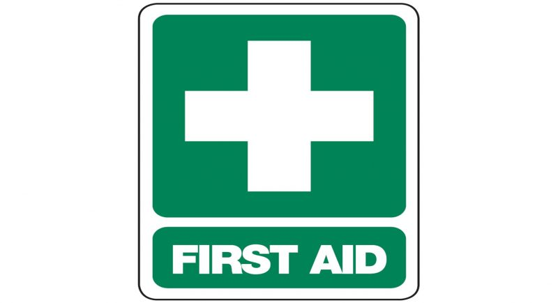 First Aid Sign, 300 x 225mm
