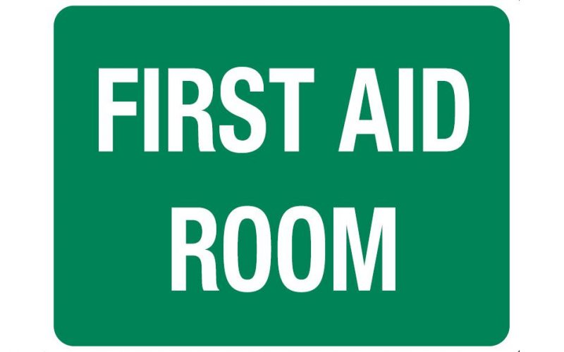 First Aid Room Sign, 600 x 450mm